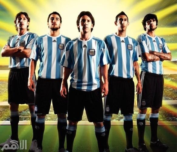 الأرجنتين تصدير لاعبين كرة القدم
