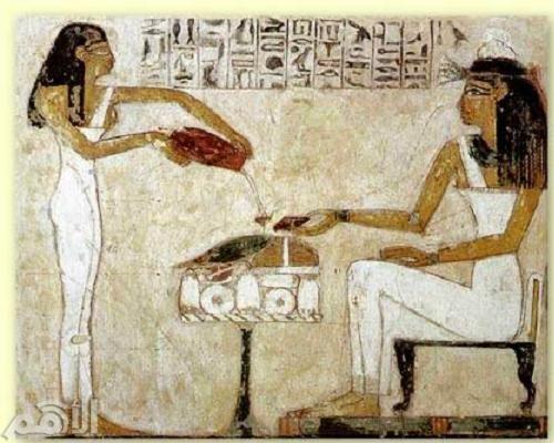 القدماء المصريون والمخدرات
