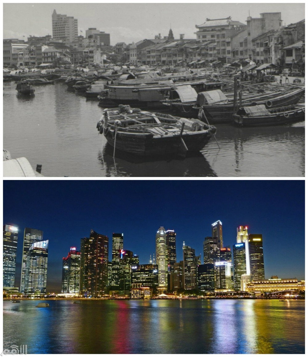 10 مدن تغيرت بشكل لا يصدق في فترة قصيرة بينهم مدينة عربية