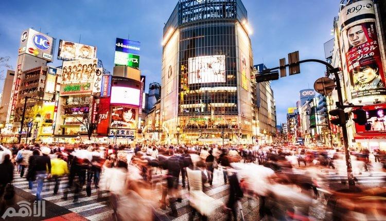 طوكيو , اليابان , 12.51مليون سائح