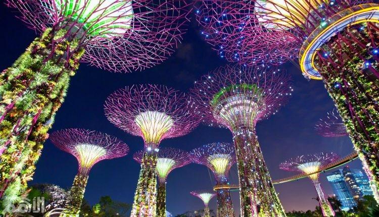 سنغافورة , 13.45مليون سائح