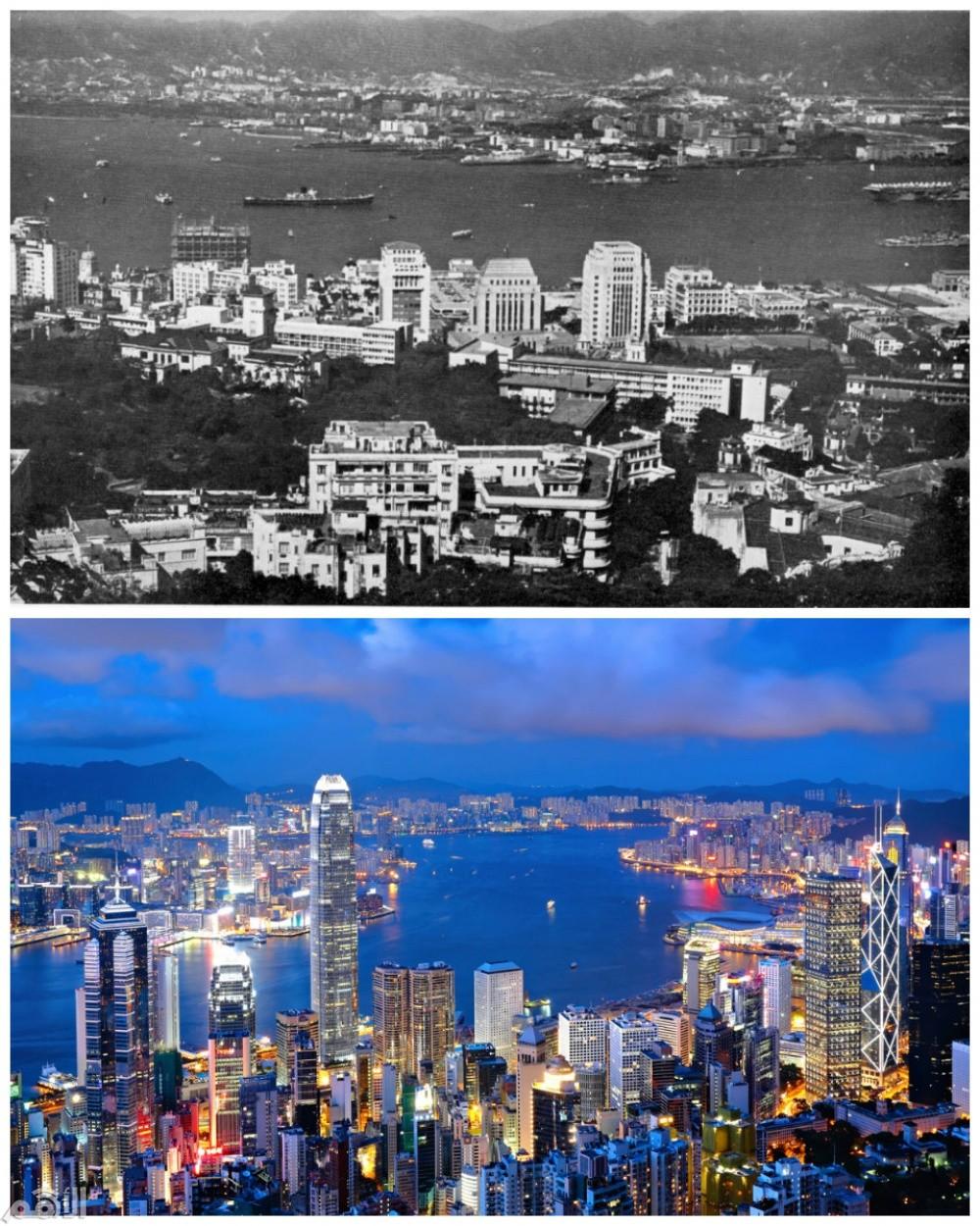هونغ كونغ , الصين في عام 1960 والآن
