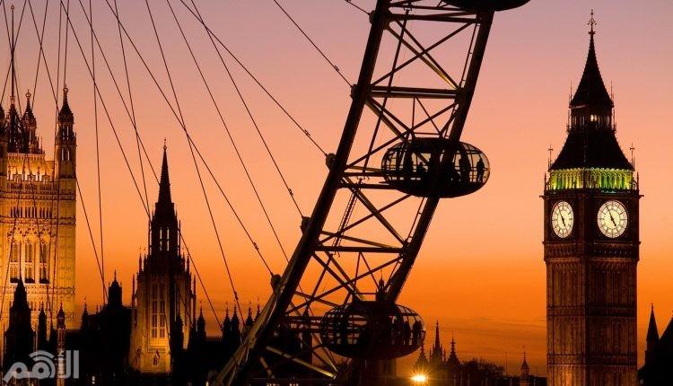 لندن , بريطانيا , 20.1 مليون سائح
