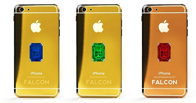 الأيفون الذهبى والماسى