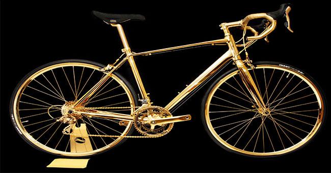 الدراجة الذهبية