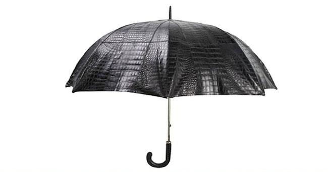 مظلة جلد التمساح