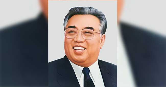 إنه عام 105 فى كوريا الشمالية