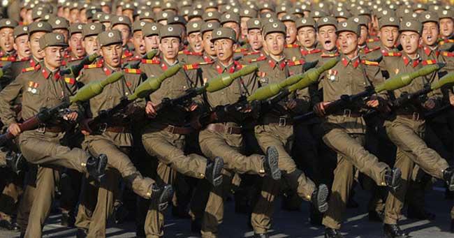تمتلك الجيش الاكبر حجما فى العالم