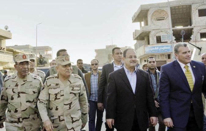 تفاصيل استهداف مطار العريش الدولي أثناء وجود وزيري الدفاع