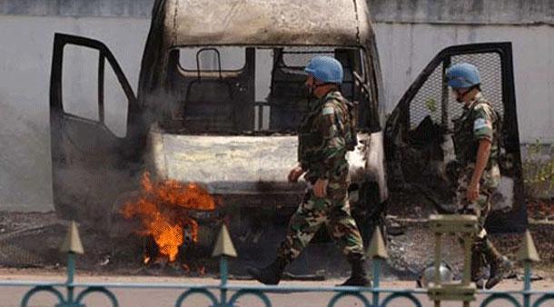"""مدينة """" كينشاسا """" في جمهورية الكونغو الديمقراطية"""