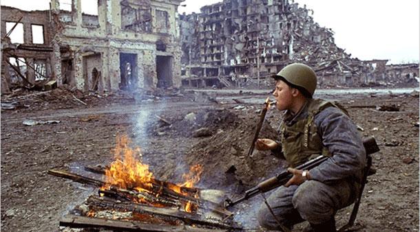 """مدينة """" غروزني """" في الشيشان"""