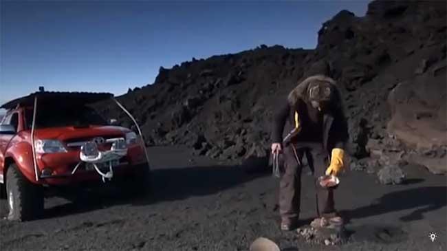 الطهي على البركان