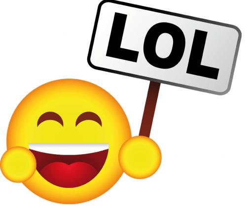 """ LoL "" وباقي الكلمات المختصرة"