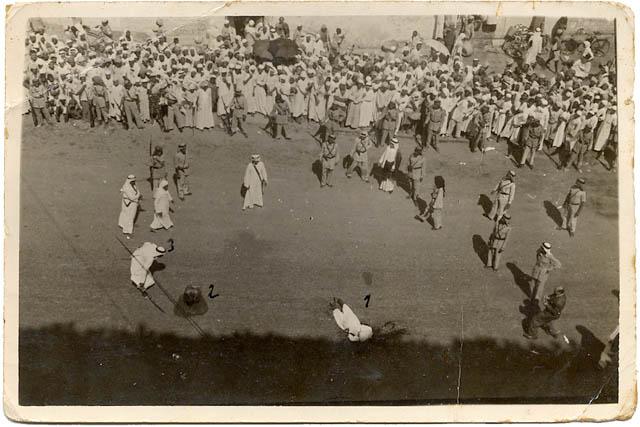اعدام 61 شخصا من أفراد الجماعة، وكان جهيمان