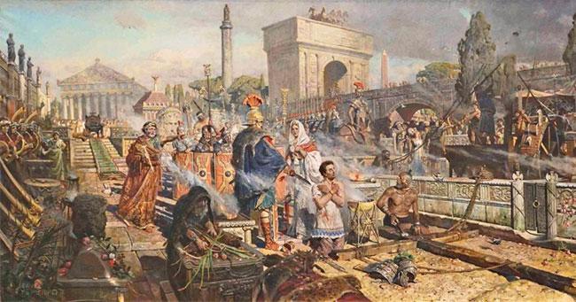 اكثر 5 حضارات تقدماً في التاريخ