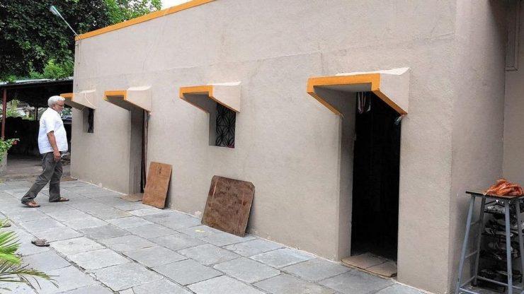 منزل بدون أبواب
