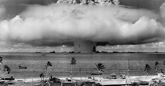 مواقع تم استخدامها لتجربة القنابل النووية