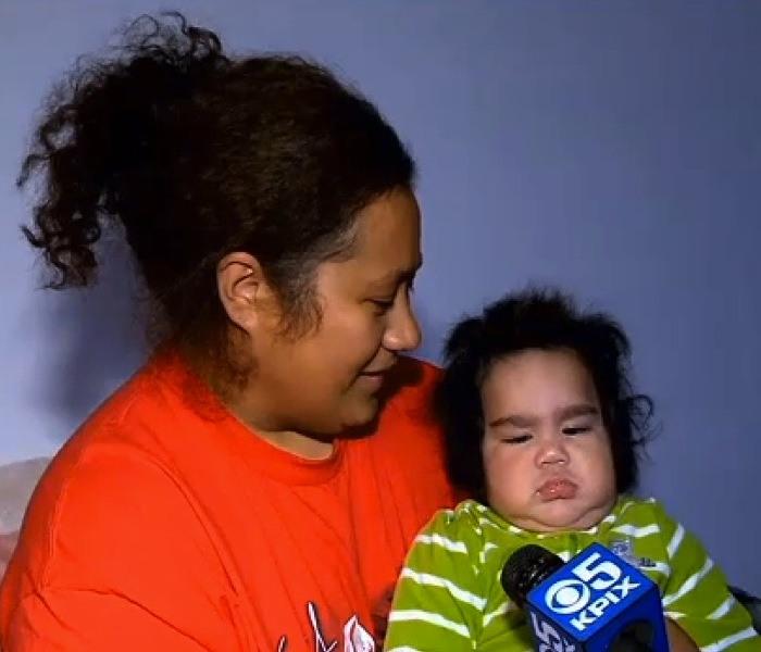 الطفل ساميسانو جوشوا تالاي أوتوهيفا